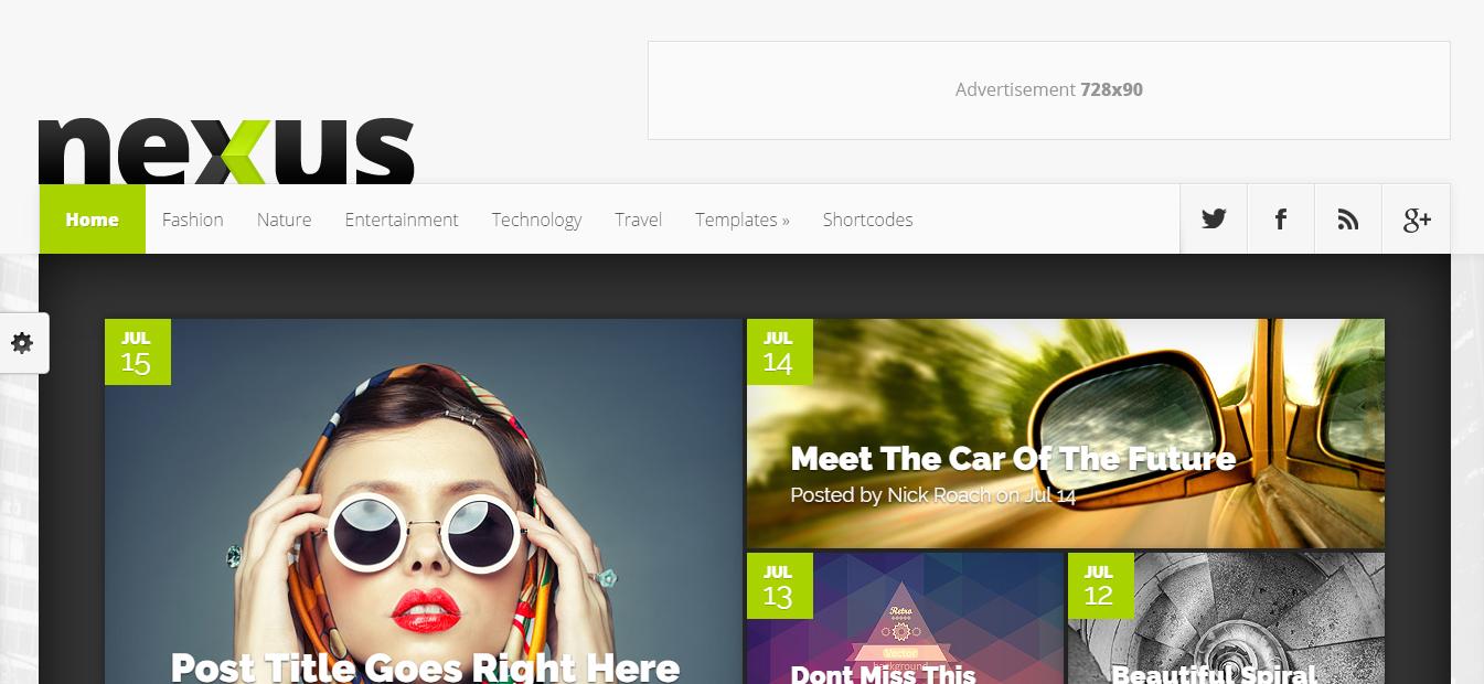 Nexus-wordpress- Paid Responsive Template