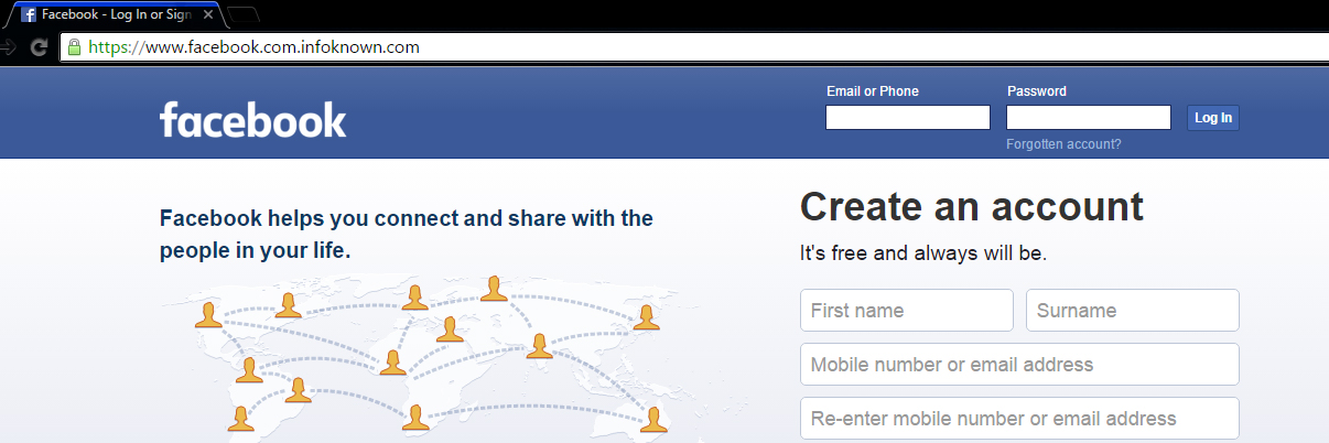 Facebook Perfect Phishing Page