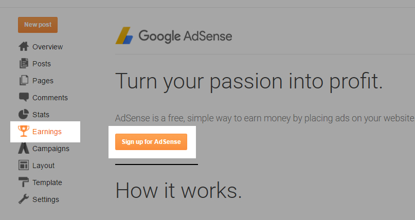 blogger-adsense-signup