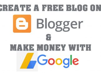 Create Free Blog on Blogspot & Make money with Google adsense