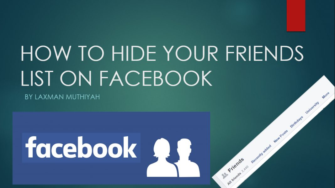 how to add friend list on facebook