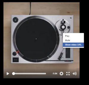Copy Facebook Video URL