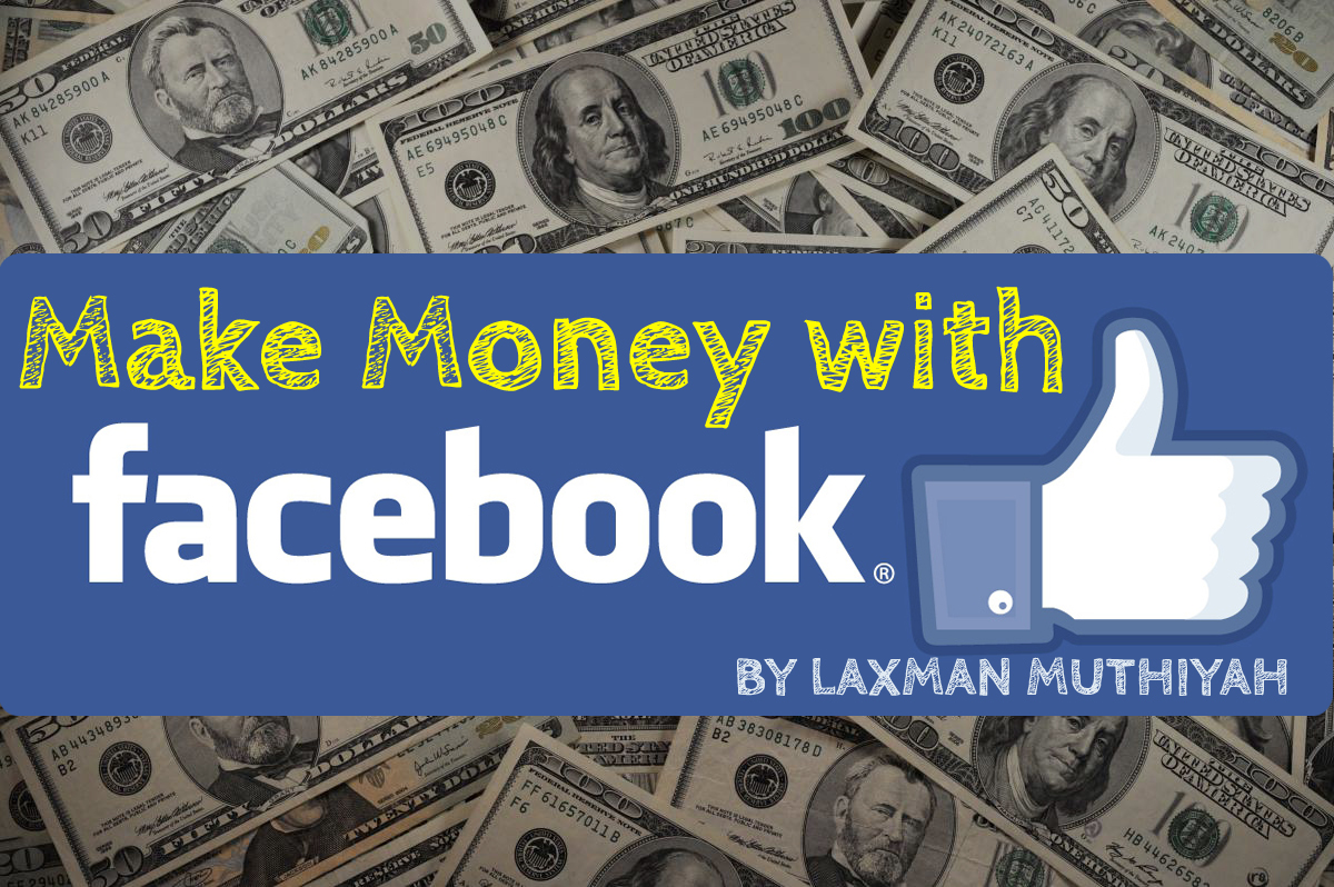 How To Make Money On Facebook In Leisure Time €� Simple Steps