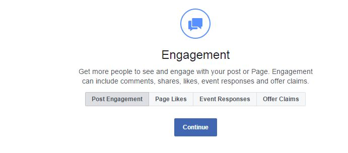 Facebook Ads People Engagement