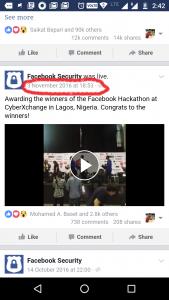 Facebook Mobile Video URL Copy