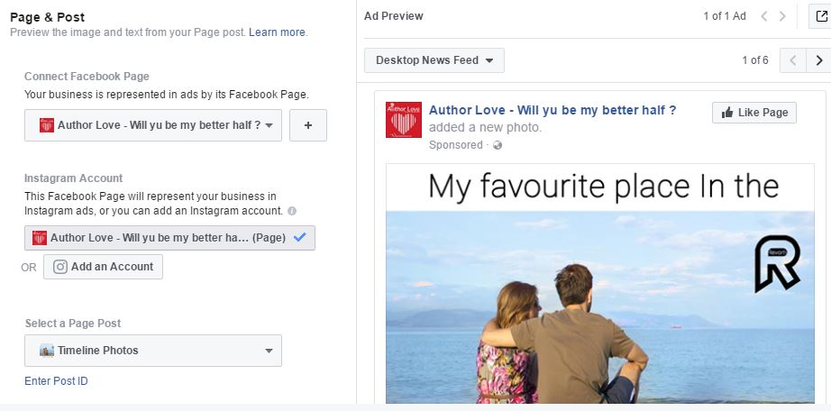 Facebook Page & Post Preview