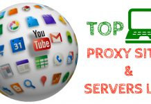 Top-Proxy-Sites-&-Best-Proxy-Servers-List