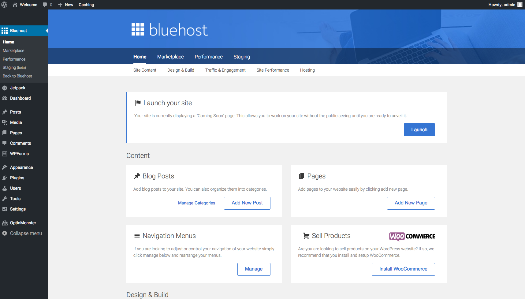 12 Bluehost Tools